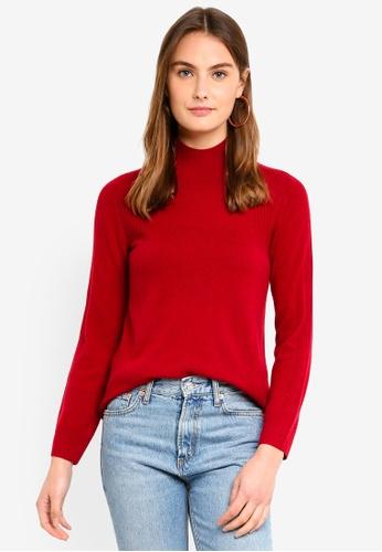 ESPRIT red Long Sleeve Cardigan 80D4AAABBA47E4GS_1