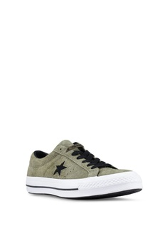 10% OFF Converse One Star Dark Star Vintage Suede Ox Sneakers HK  659.00  NOW HK  592.90 Sizes 7 9 10 11 93a5173ec