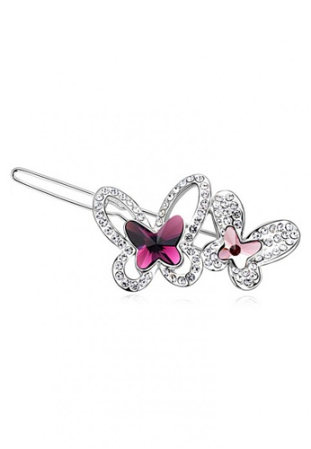 LOVENGIFTS purple LOVENGIFTS Butterfly Charm Hair Pin (Purple) 995B2BE66367FEGS_1