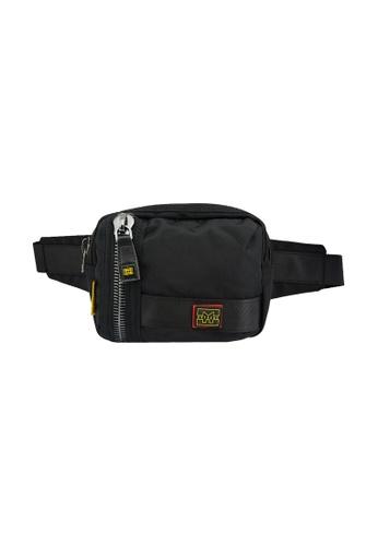 EXTREME black Extreme Nylon waist bag casual chest bag travel adventure hiking fanny pack 68F34ACBF581F8GS_1