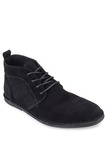 esprit hk麂皮繫帶短靴, 鞋, 鞋