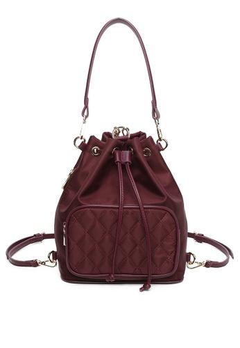 Milliot & Co. red Wendy Top Handle Bag 446E9ACFF2CB8DGS_1