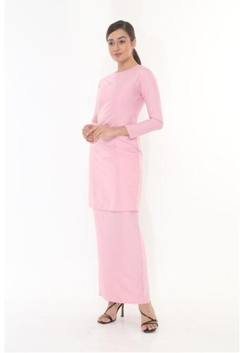 Amar Amran pink Baju Kurung Moden Qasandra 4E18CAAD9F0B73GS_1