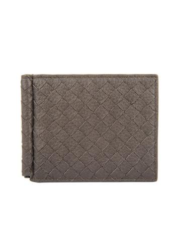 BOTTEGA VENETA brown Bottega Veneta Intrecciato Bi-Fold Wallet in Dark Brown for UNISEX 4D6E7ACDEB561CGS_1