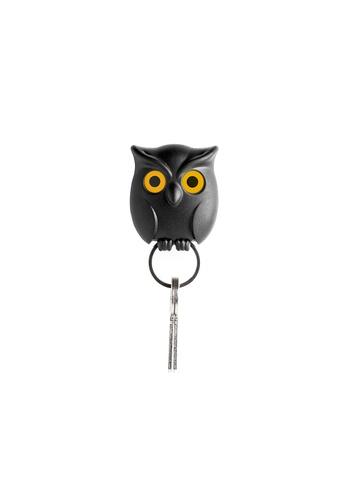 Qualy Qualy Night Owl Key Holder (Black) 1A77CHL4575C18GS_1