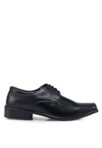 Bata black Laced Up Dress Shoes DA9D5SHC95F281GS_1