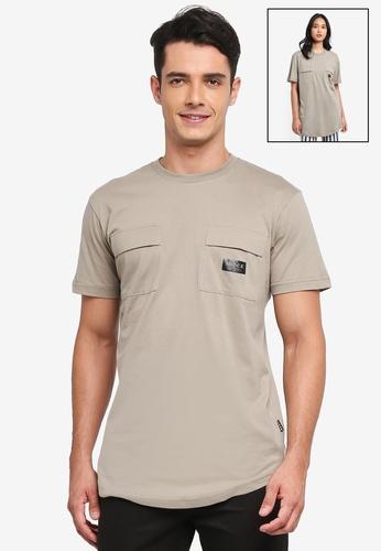 Nicce London green Capsule T-Shirt 66F73AA4B9EF8BGS_1