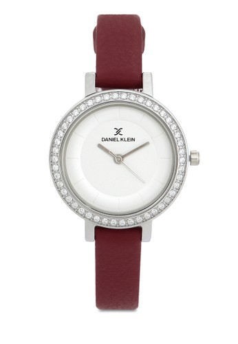 Daniel Klein red Jam Tangan Wanita DK11805-4 Genuine Leather 36E2CACD65E645GS_1