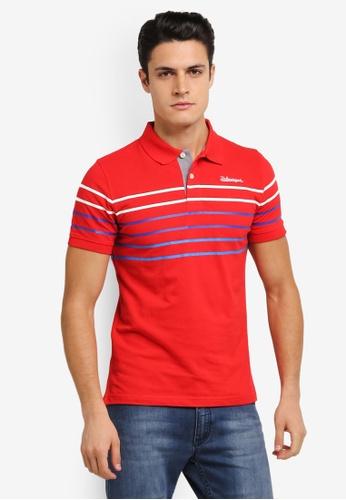 Volkswagen red Volkswagen Cotton Polo Shirt VO089AA0SKGIMY_1