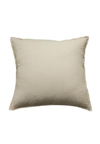 DILAS HOME Basic Lightweight Cushion Cover (Beige) FA9B1HL8605267GS_1