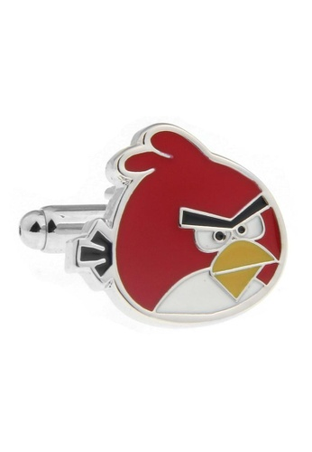 The Little Link Cufflinks red Angry Birds (Red) Cufflinks TH089AC92RWTSG_1