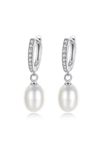 A.Excellence white Premium White Pearl Elegant Earring C34AEAC430254FGS_1