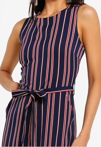 10f7ae73cd8 Buy Mela London Nautical Stripe Culotte Jumpsuit Online