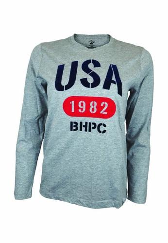 Beverly Hills Polo Club BHPC Women Cotton Jersey Graphic Long Sleeves 92C56AA60CB47FGS_1