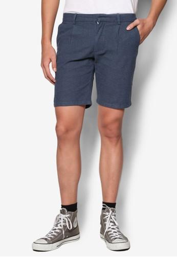 褶飾五分短褲, 服esprit床組飾, 短褲