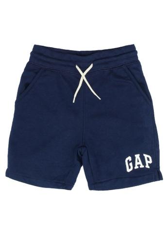 GAP blue Logo Shorts 92490KAE077A81GS_1