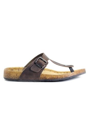 G-wingx brown G-Wingx Men Sandal 91142SHB9BA9F7GS_1