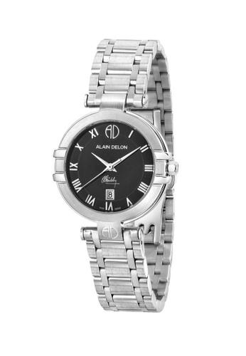 Alain Delon silver Alain Delon Women AD351-2331 Silver Stainless Steel Watch B5DBDAC5D13B89GS_1