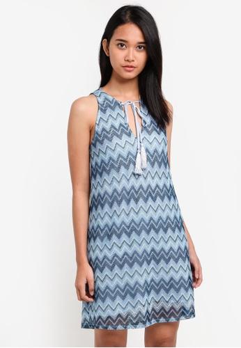 Something Borrowed blue Lace Cut In Shift Dress 6956EAA622C45FGS_1