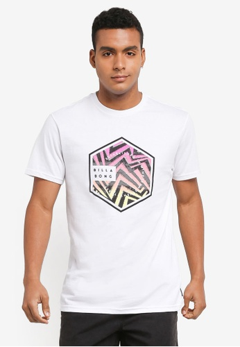 Billabong white Access Tee BI783AA0SXGPMY_1