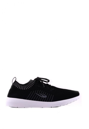 World Balance black Ultra Weave L Sneakers 93726SH19A91EDGS_1