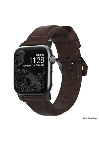 Nomad brown Leather Apple Traditional Watch Strap 42mm 74121AC8E8EFDBGS_1
