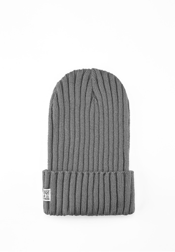 Life8 grey Men and Women Knitted Retro Beanies-Grey【05308】 1637BACB95E478GS_1