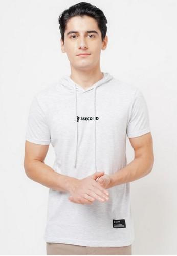 3SECOND grey Men Tshirt 731220 D00DDAAD1EDE29GS_1