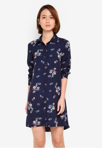 ZALORA multi Shirt Dress 769A4AA9A30B5FGS_1