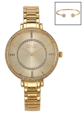 SO&CO gold Studio 5066 Watch Set 19942AC916B017GS_1