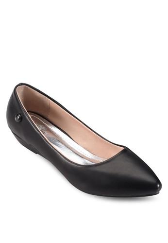 尖頭低跟楔型跟鞋, 女esprit 台灣官網鞋, 厚底楔形鞋