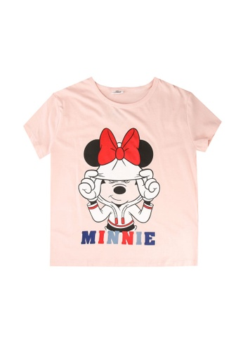 FOX Kids & Baby pink Printed Tee E660DKA2C5426EGS_1