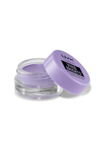 NYX Professional MakeUp purple Vivid Brights Creme Colour - Sugar Rush 45106BEEE28918GS_1