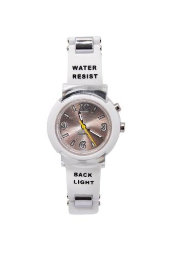 Stylebox white 1032 Flash LED Backlight Watch E997CAC9B12FEEGS_1