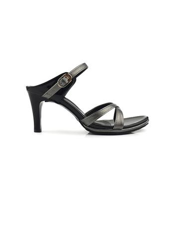 SHINE black Slip On Mule Heels A2A90SH8AAA192GS_1