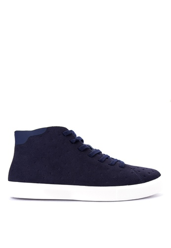 Native blue Monaco Mid Sneakers NA764SH0JR68PH_1