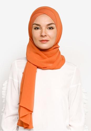 Bokitta orange Papaya FreeStyle Hijab 0EEDAAAA3D25E4GS_1