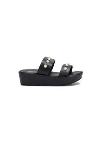 prettyFIT black Almond Platform Slide R-1876 3535ESH006C5FEGS_1