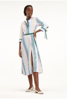 0ee2b62bc502db Tommy Hilfiger multi Fancy Pleated Dress Ls DBE32AA1796D74GS 1