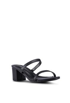 29ae3c8f6b8 DMK Slip On Block Heel Sandals RM 119.90. Sizes 36 40