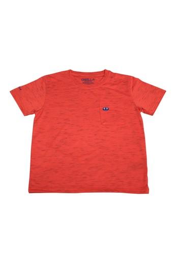 Osella Kids red Osella Baju Anak laki Laki Tshirt Polos Saku Osie Red E0BA9KA3C15459GS_1