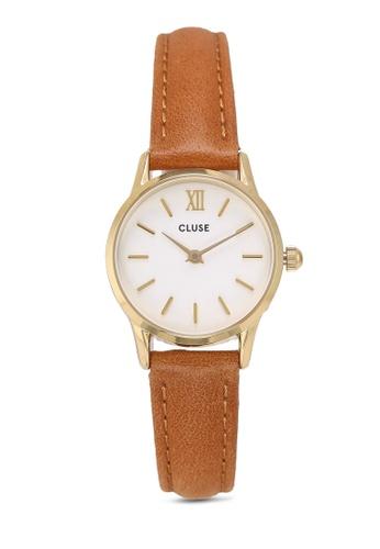 d4ac39309 Buy CLUSE La Vedette Gold White/Caramel Watch Online | ZALORA Malaysia