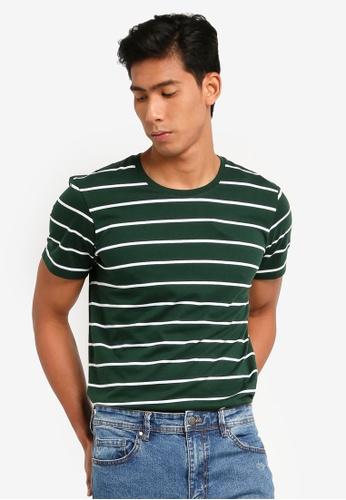 Cotton On 多色 Tbar Premium Crew T恤 101E4AA3BFEB9AGS_1