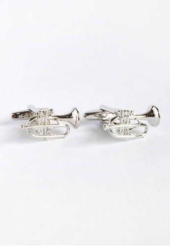 Splice Cufflinks Trumpets Cufflinks SP744AC94XZLSG_1