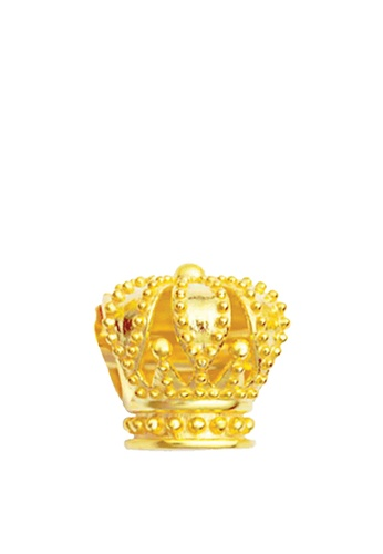 TOMEI gold [TOMEI Online Exclusive] Royal Crown Chomel Charm - The Golden Chomel Collection, Yellow Gold 916 (TM-YG0637P-1C) (2.54G) 268C8ACCCAC758GS_1