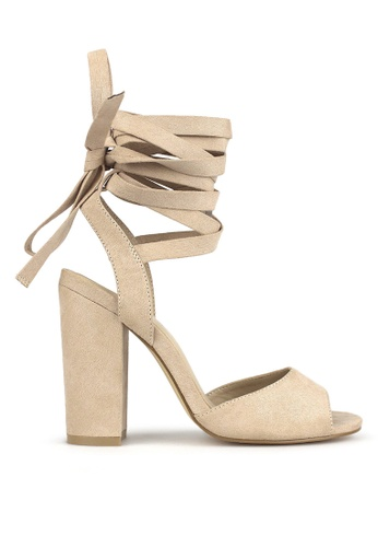 Betts beige Tuscany Leg Tie Sandals C7C07SHB95F20BGS_1