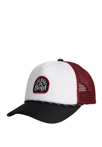 OR-K689 white and multi OR-K689 Cap Bebold White Maroon 6E0DAACA4C07F8GS_1