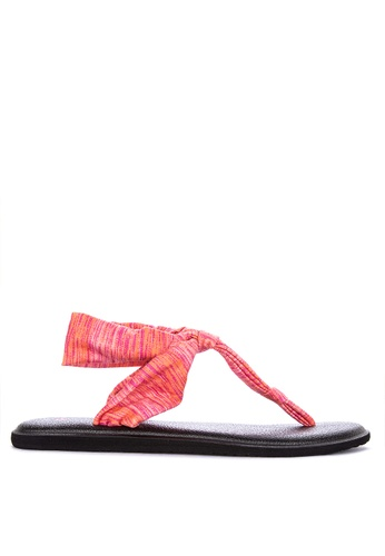 86d803d12 Shop Sanuk Yoga Sling Ella Prints Sandals Online on ZALORA Philippines