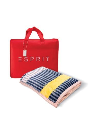 Esprit Esprit Flannel Fleece Blanket/ Queen Size 200 x 230cm 99EE4HL6AA6573GS_1