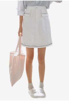 Ava 迷你鉛筆短裙